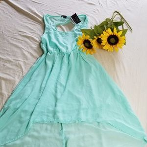 CLOSET CLEAR OUT!!  Summer mini dress (Mint Green)